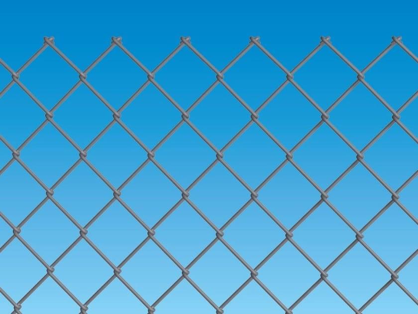 Electrically welded mesh Fence IDEAL ZINC by Ferro Bulloni