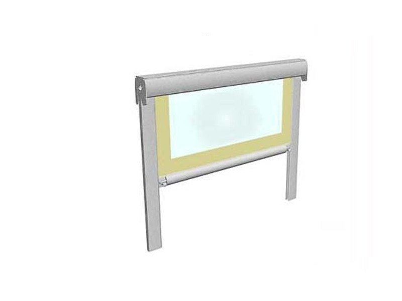 Box roller blind with guide system AIR STOP by BT Group