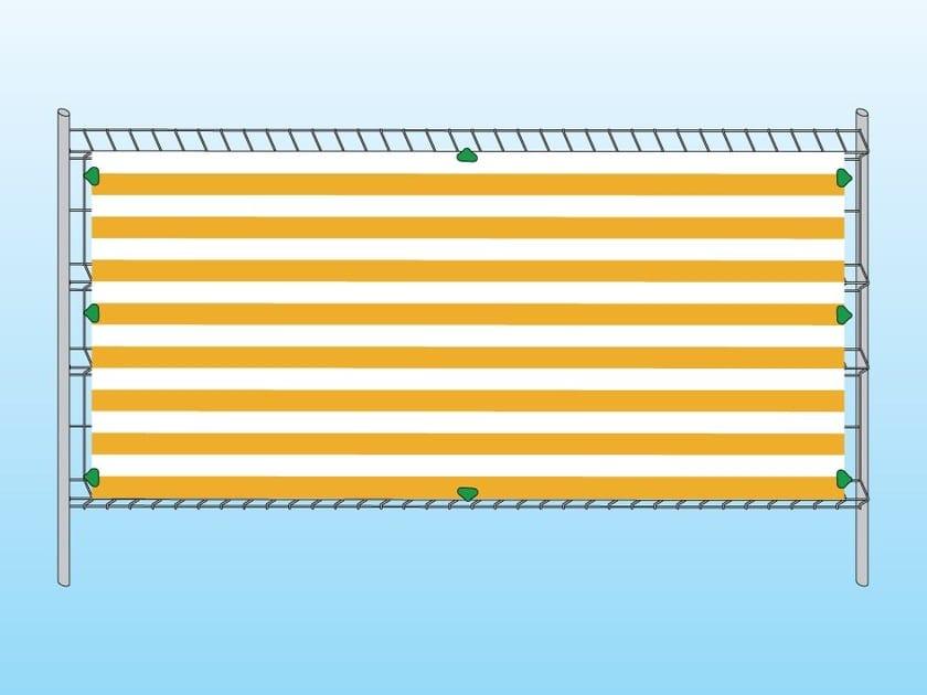 Telo Bicolore per cantiere 3200x1500 mm