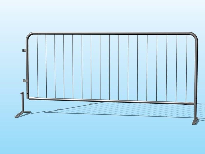 Galvanized steel Security barrier TRANSENNA by Ferro Bulloni