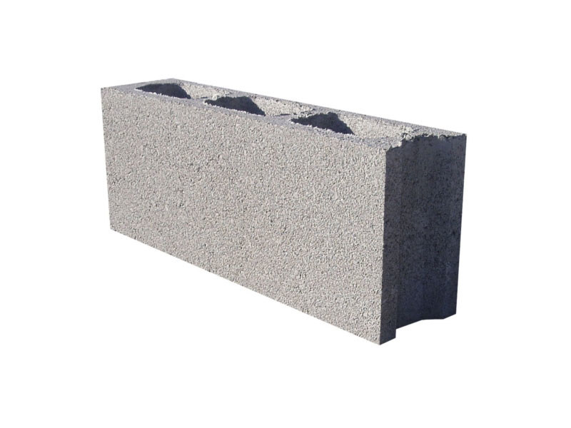 External masonry block in concrete BL 12 by M.v.b.
