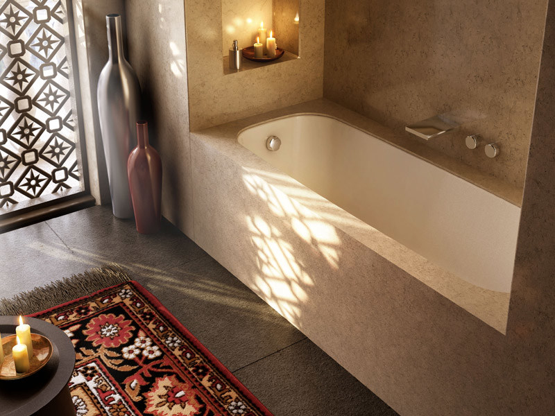 Vasca Da Bagno Incasso Sottopiano : Vasca da bagno rettangolare sottopiano dek glass1989