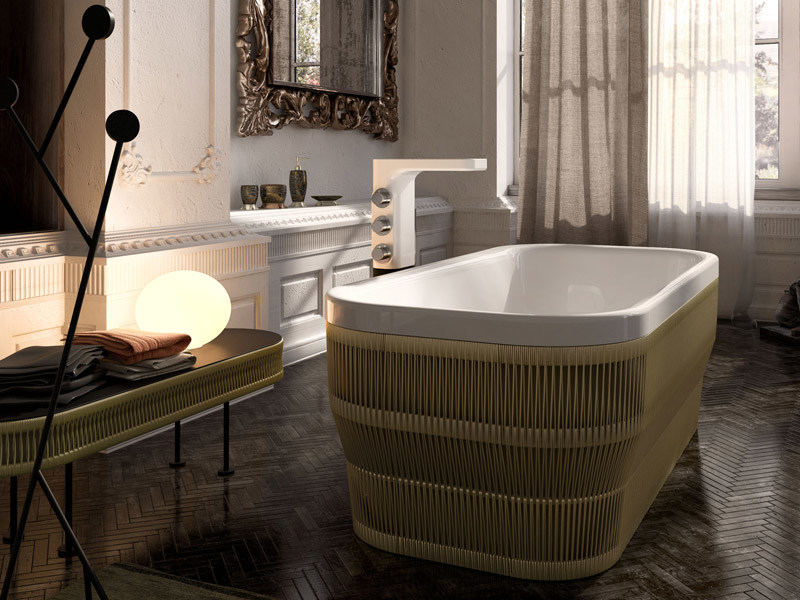 Wonderful Rectangular Rope Bathtub PEARL | Rectangular Bathtub