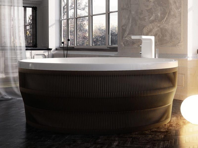 Round rope bathtub PEARL | Round bathtub by Glass1989