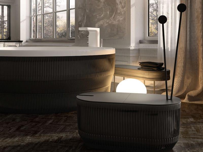 Vasca Da Bagno Rotonda : Vasca da bagno rotonda in corda pearl vasca da bagno rotonda