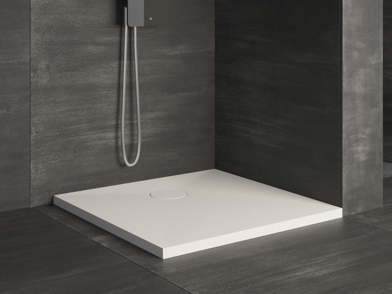 Square extra flat shower tray RAZOR | Square shower tray by Glass1989