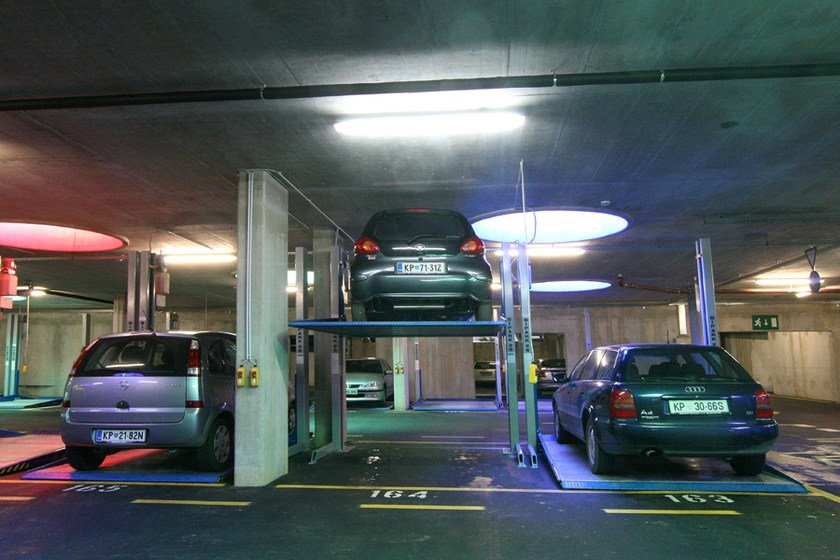 Automatic parking systems BIPARK 26 by O.ME.R.