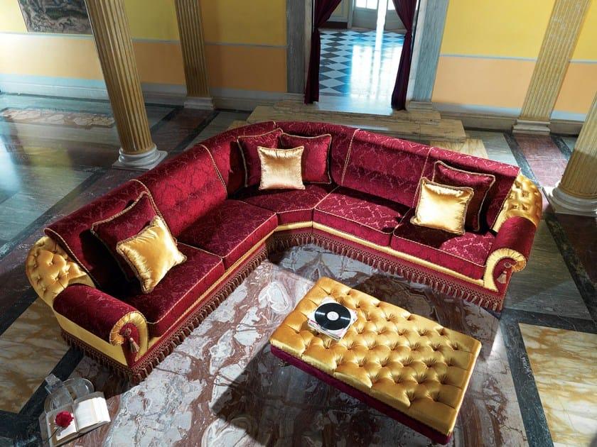Corner upholstered sofa ALONSO | Corner sofa by Domingo Salotti