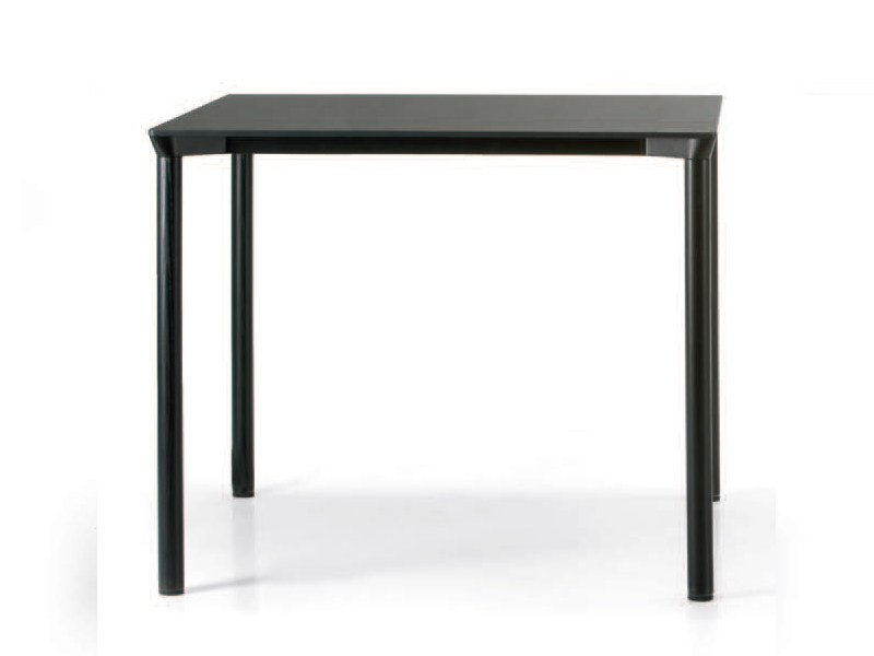 Stackable square HPL table MONZA | Square table by Plank