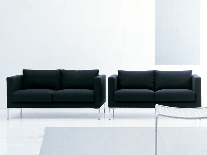 Sofa with removable cover BOX by Living Divani