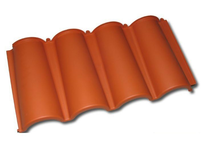 Synthetic material roof tile BriCoppo - BriCoppo Skylight by TECNO IMAC