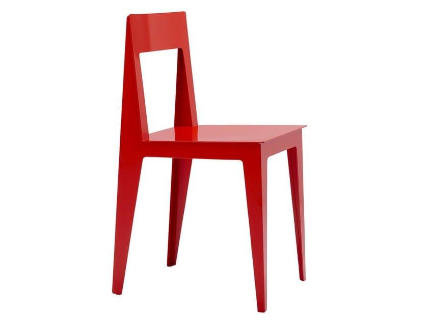 Steel chair LA PLIÉE by Ligne Roset