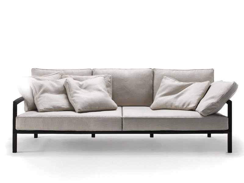 Sofa with removable cover CHROMATIC by Living Divani