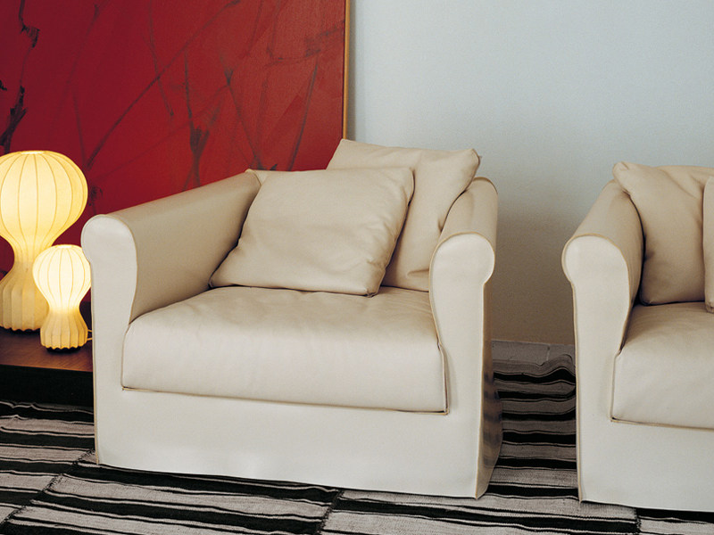 Armchair with armrests DORIAN | Armchair by Living Divani