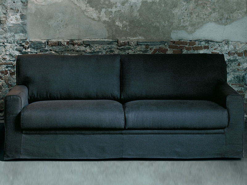 Sofa bed with removable cover GREGORY by Living Divani