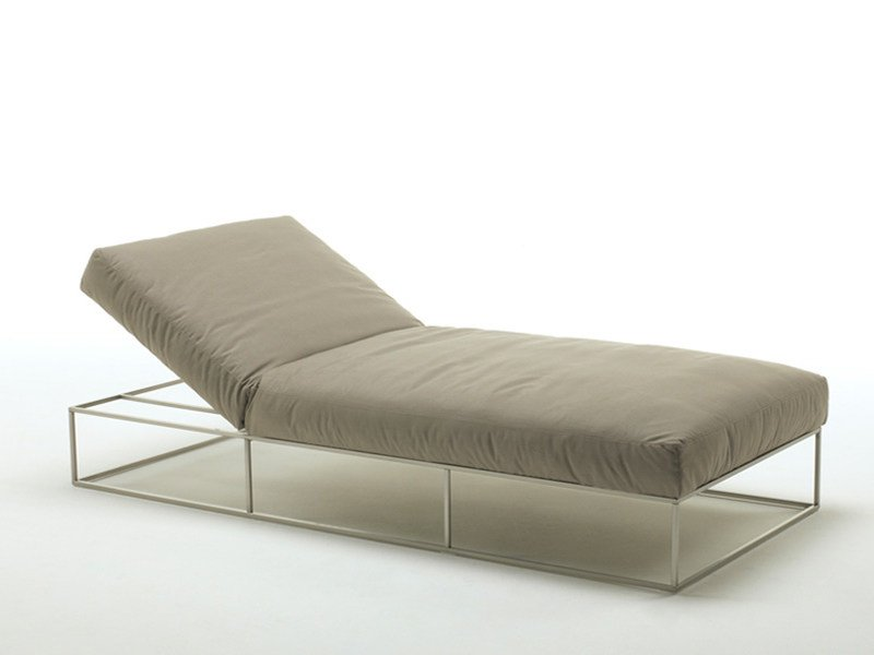 Recliner garden daybed ILE CLUB | Lounge chair by Living Divani