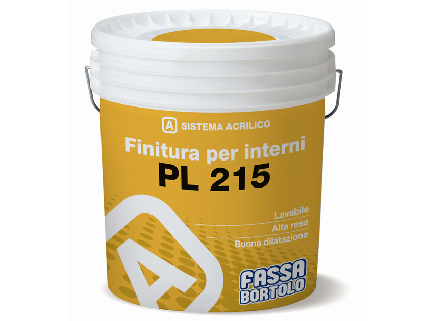Washable water-based paint PL 215 by FASSA