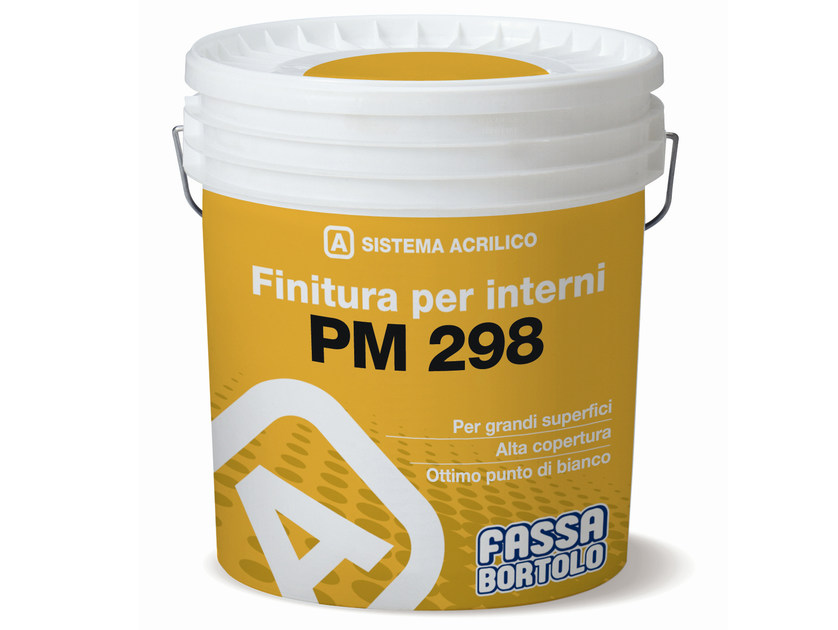 Breathable water-based paint PM 298 by FASSA