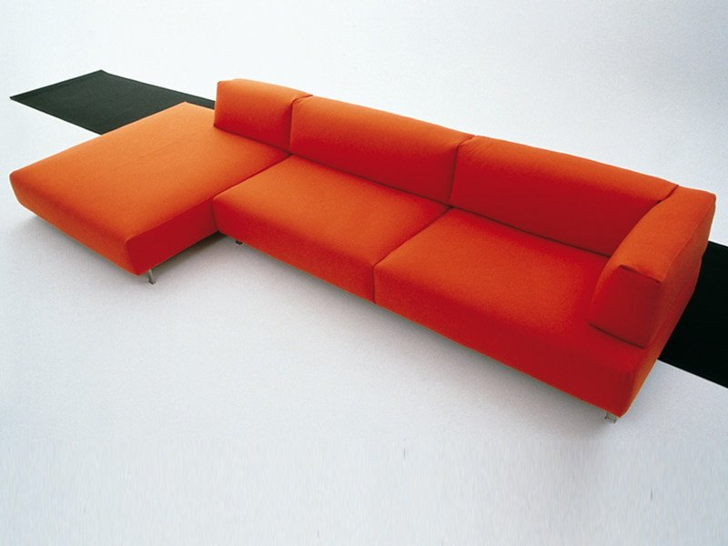 Sofa with removable cover METRO² | Sofa by Living Divani