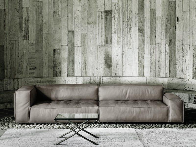 Anbausofa mit abnehmbarem Bezug NEOWALL By Living Divani Design ...