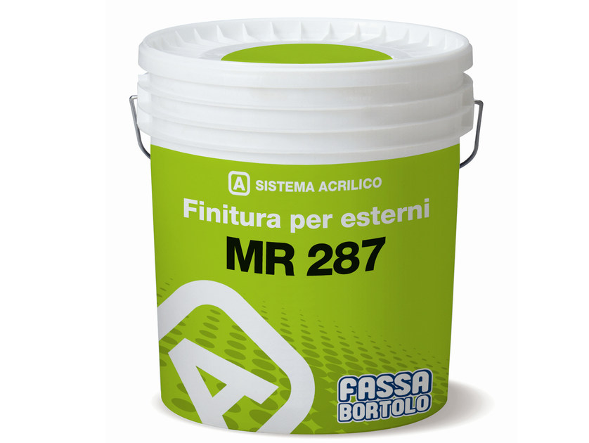 Breathable water-based paint MR 287 by FASSA