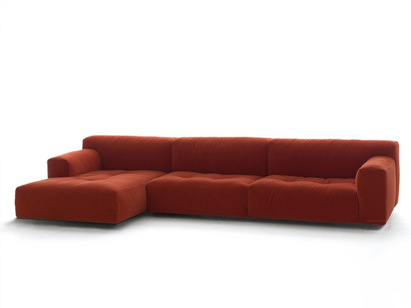Sofa with removable cover SOFTWALL | Sofa by Living Divani