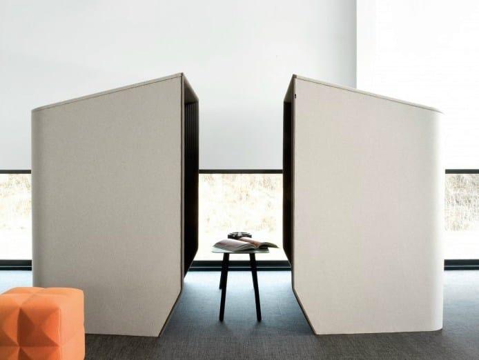 Cabine de escritório acústica para reuniões BuzziHub by BuzziSpace