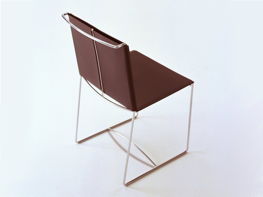 Leather chair FIL by Ligne Roset