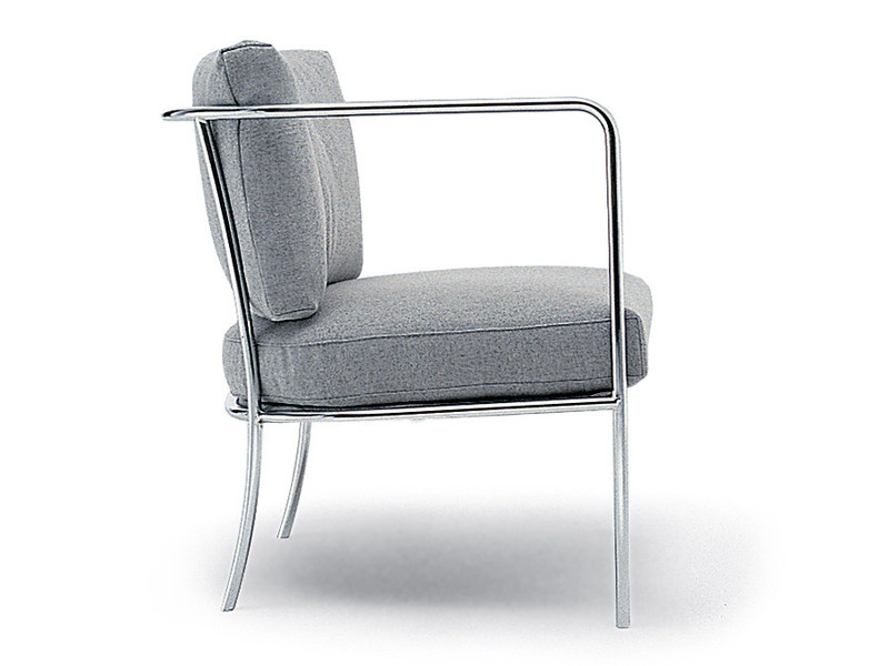 Easy chair with armrests CAFÉ | Easy chair by Living Divani