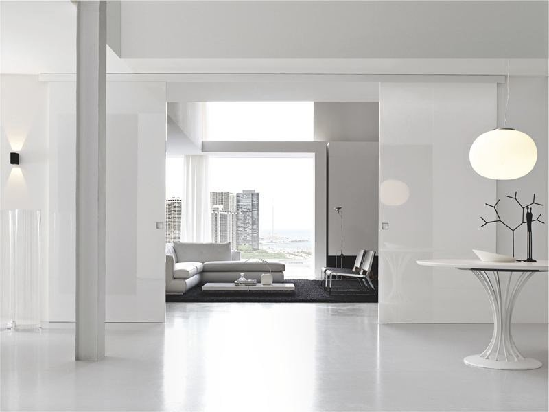 Lacquered sliding door B-MOVE BASIC by BLUINTERNI