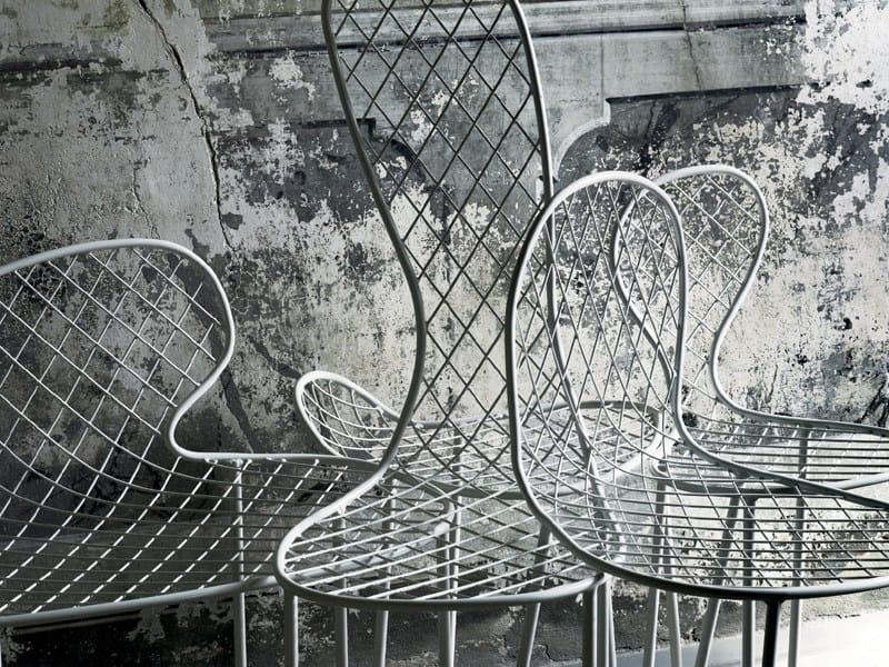 Living In Chairs Metallica Divani Family Sedia Rete kOZPXiu