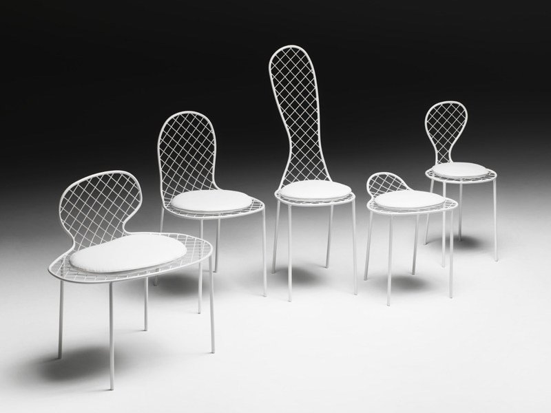 Wire mesh chair FAMILY CHAIRS by Living Divani