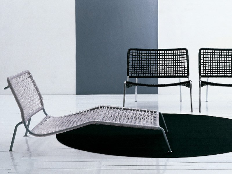 Lounge chair FROG LOUNGE by Living Divani