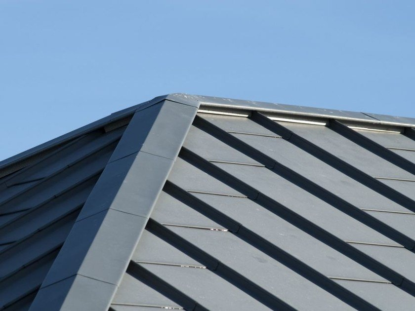 Metal sheet and panel for roof DEXTER® by UMICORE VMZINC