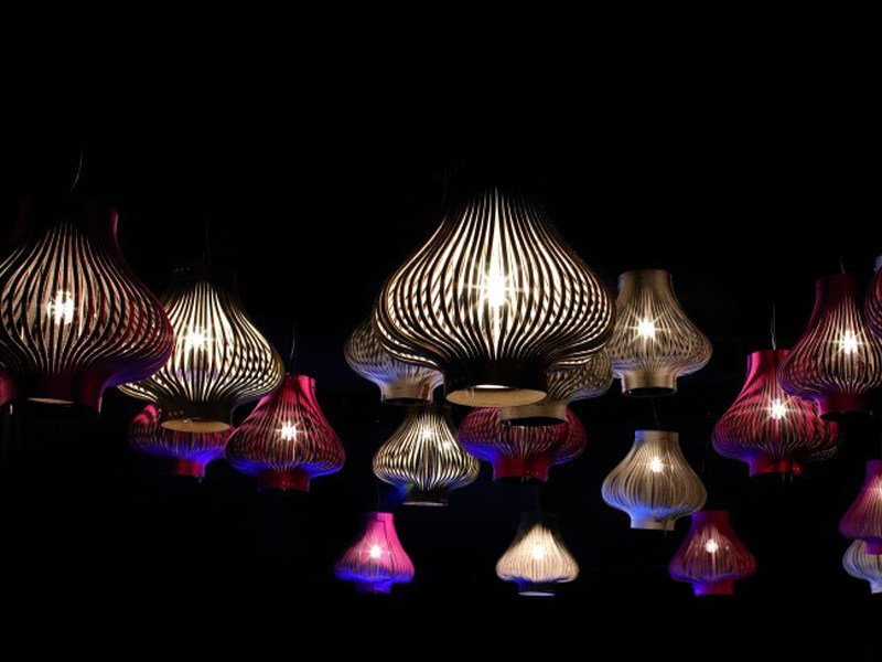 Felt pendant lamp BUZZILIGHT | Pendant lamp by BuzziSpace