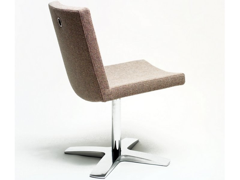 Upholstered chair with 4-spoke base MEDIUM | Chair with 4-spoke base by Inno