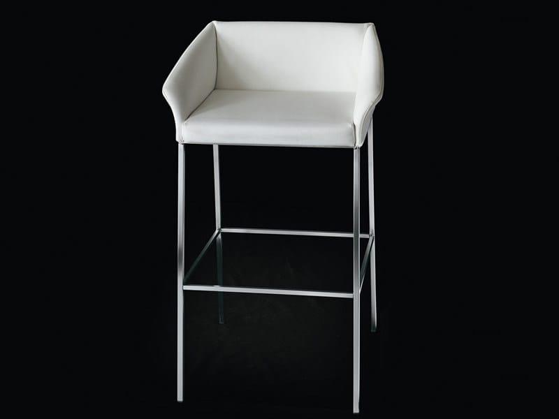 High upholstered stool OPERA | Stool by Living Divani