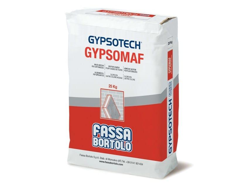 Mortar for masonry GYPSOMAF by FASSA