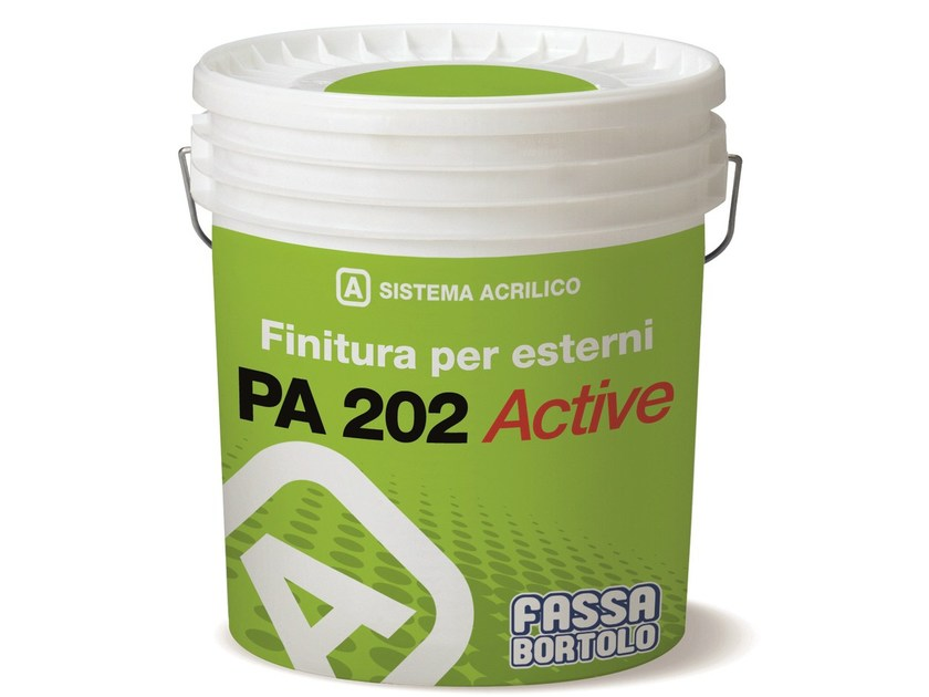 Water repellent water-based paint PA 202 ACTIVE by FASSA