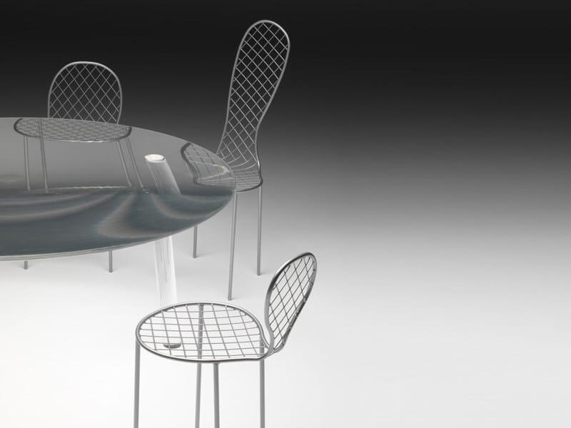 Tavolo Plexiglass In Drop Living Rotondo Divani Table PXkuZi