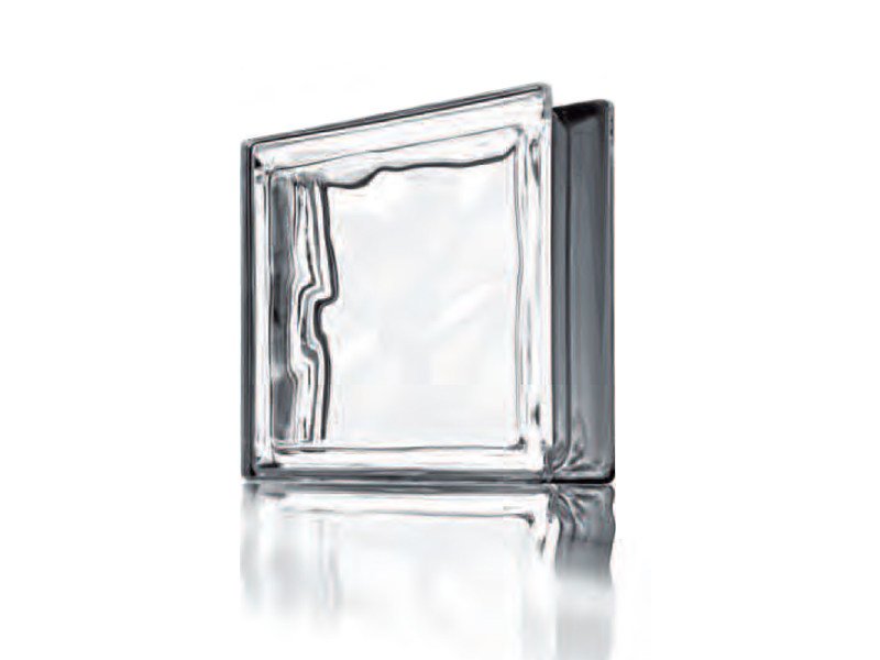 Glass Block with Silver effect PEGASUS | Metallizzato by Seves glassblock