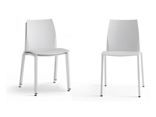 Stackable chair POCKET by Zalf