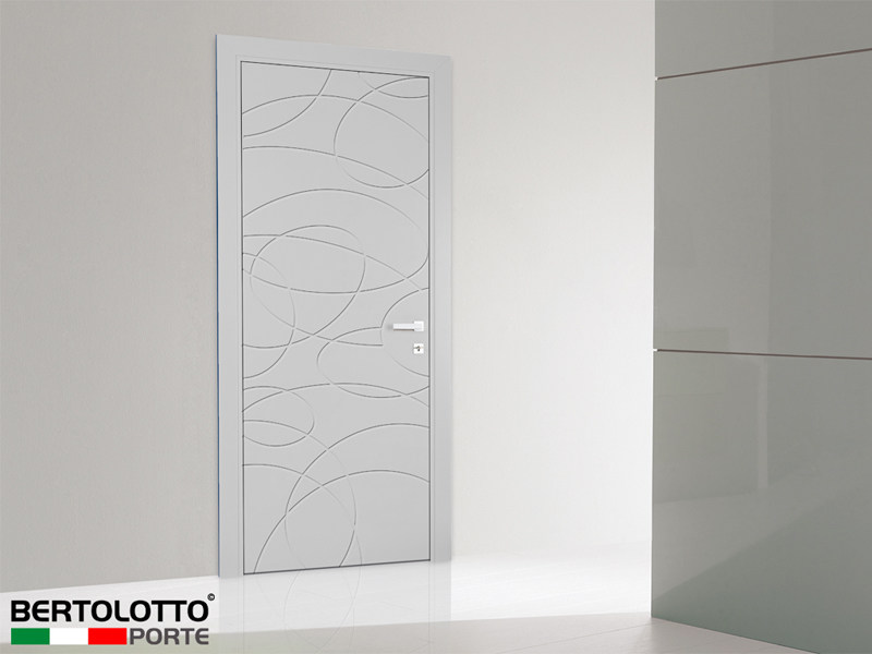 Hinged lacquered door MISTRAL By Bertolotto Porte