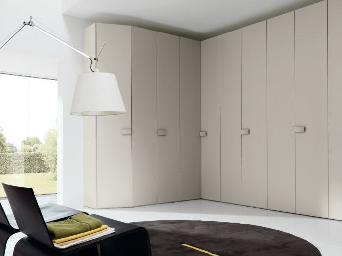 Corner lacquered wardrobe COMBI SYSTEM Z325 by Zalf