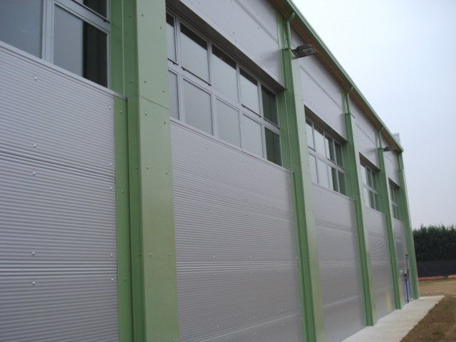 Insulated metal panel for facade ALUTECH WALL by Alubel
