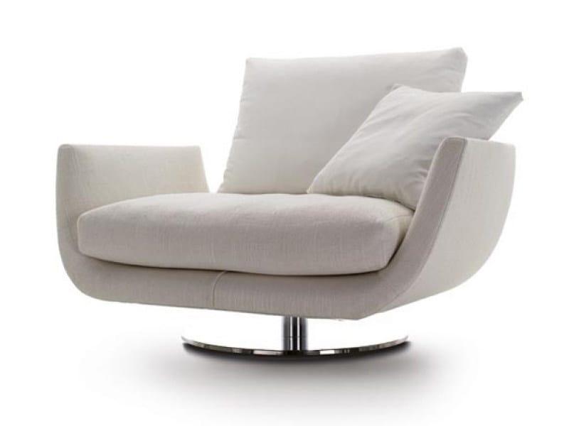 Swivel armchair TULISS UP | Armchair by Désirée divani