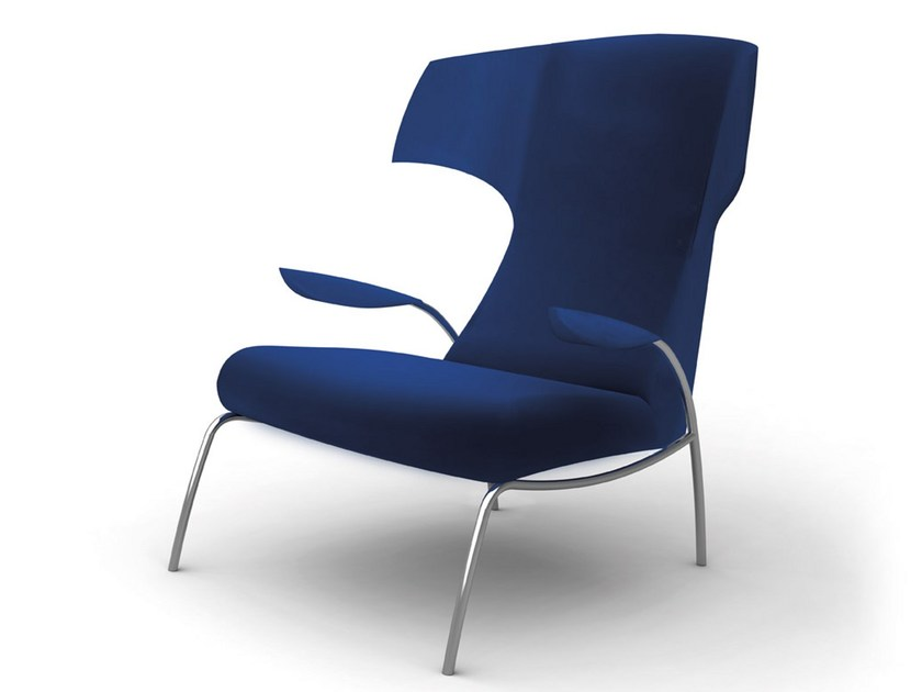 Wingchair with footstool TIFY by Désirée divani