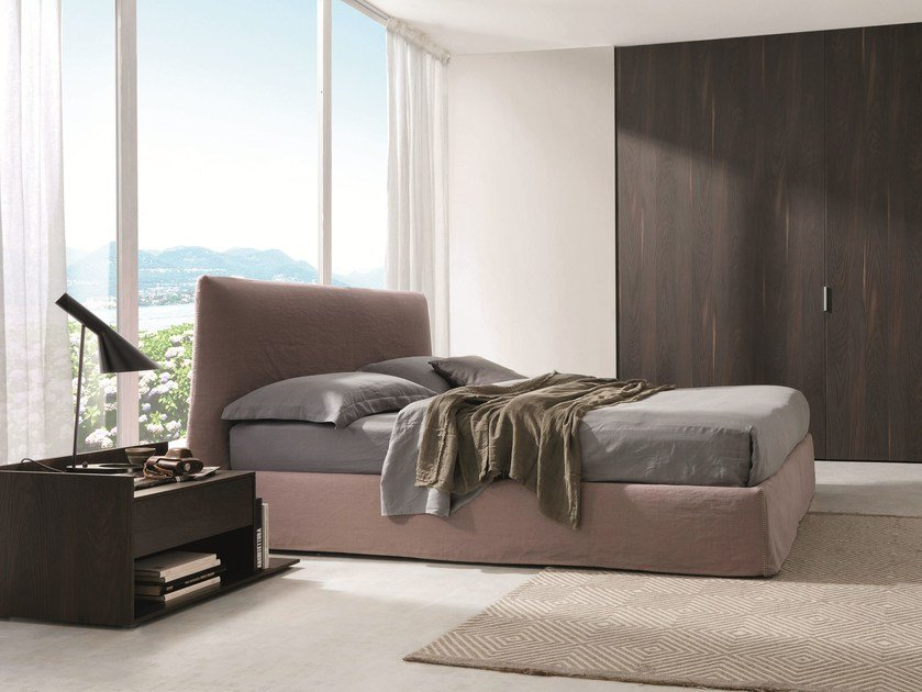 Double bed with removable cover LOV by Désirée divani