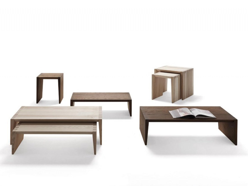 Wooden coffee table GLOW-IN   Coffee table by Désirée divani