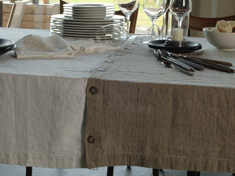 Linen tablecloth BOTTONI&ASOLE | Tablecloth by LA FABBRICA DEL LINO